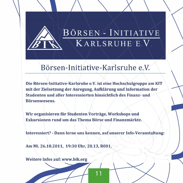 Börsen-Initiative Karlsruhe