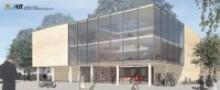 Aussenansicht auf das zukünftige Lernzentrum am Fasanenschlösschen