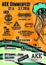 AKK Sommerfest Plakat