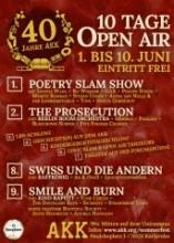 10 Tage Open Air 40 Jahre AKK Sommerfest auf dem KIT Campus
