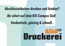 AStA-Druckerei Wiedereröffnung