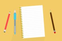 Block mit Stiften