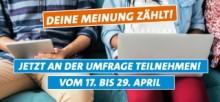 Bild zur Umfrage landesweites Semesterticket Umfrage April 2018