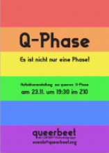 Queerbeet Karlsruhe O-Phase 2018 Flyer