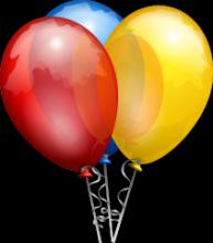 Luftballon Verfasste Studierendenschaft (VS) Jubiläum 5 Jahre