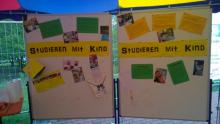 Studieren mit Kind Pinnwand